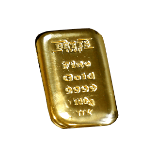 100g Betts 1760 Gold Bar