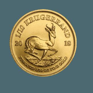 1/10 Krugerrand Gold Coin