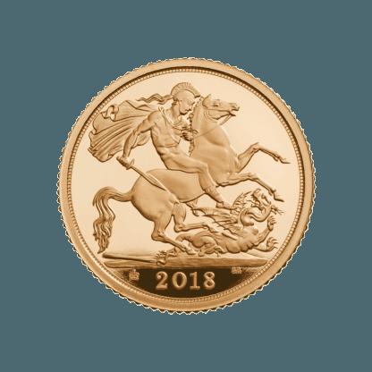 1/2 Sovereign Gold Coin