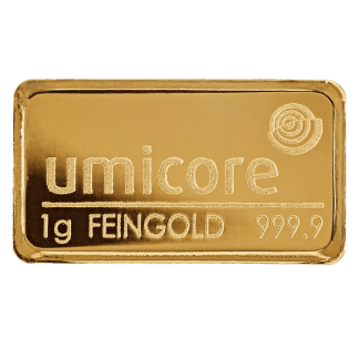 Buy 1g Umicore Gold Bar Online