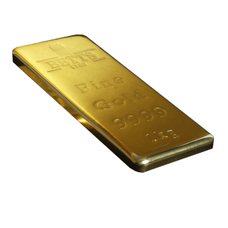 Betts 1760 1kg Gold Bar