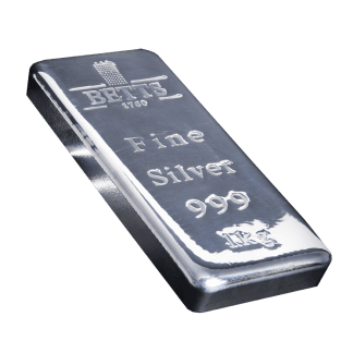 1kg Betts 1760 Silver Bar