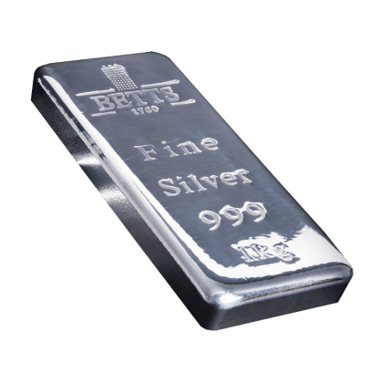 Betts 1760 1kg Silver Bar