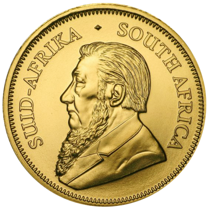 1oz Gold Kruggerand - Head