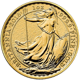 1oz Britannia Gold Coin 2018
