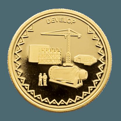 1oz Hummingbird Develop Gold Coin