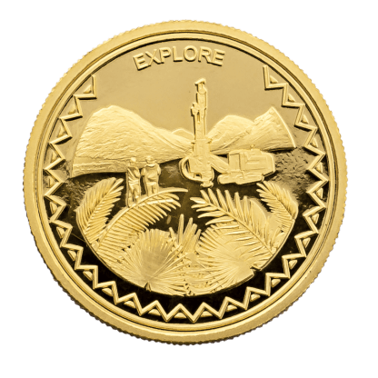 1oz Hummingbird Explore Gold Coin
