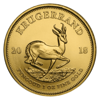 1oz Krugerrand Gold Coin