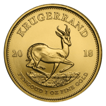 1oz Krugerrand Gold Coin