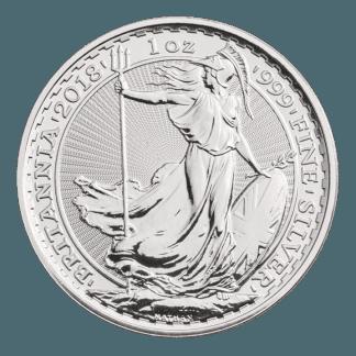 1oz Silver Britannia Coin