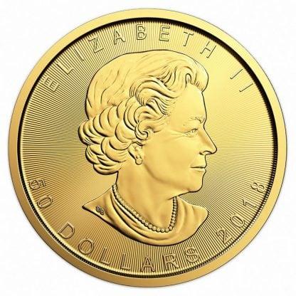 1oz gold coin maple head