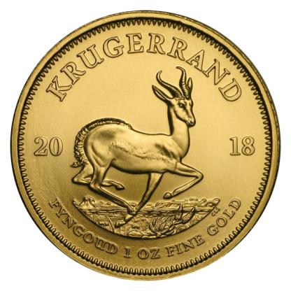 1oz Gold Krugerrand Coin
