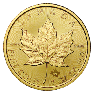 1oz Canada Gold Maple Coin
