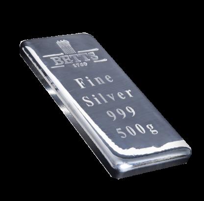 500g Betts 1760 Silver Bar