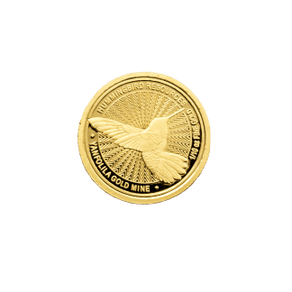 2018 1/10th oz Hummingbird Gold Coin