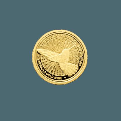 2018 1/10th oz Hummingbird Gold Coin