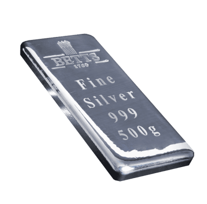 Betts 1760 500g Silver Bar