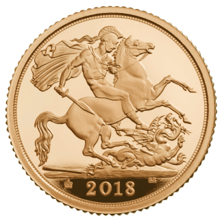 Full Sovereign Gold Coin