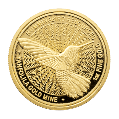 Hummingbird gold coins