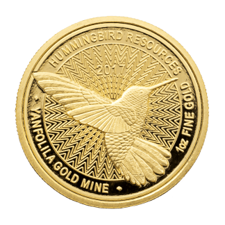 Limited Edition 2017 1oz Hummingbird Gold Coin