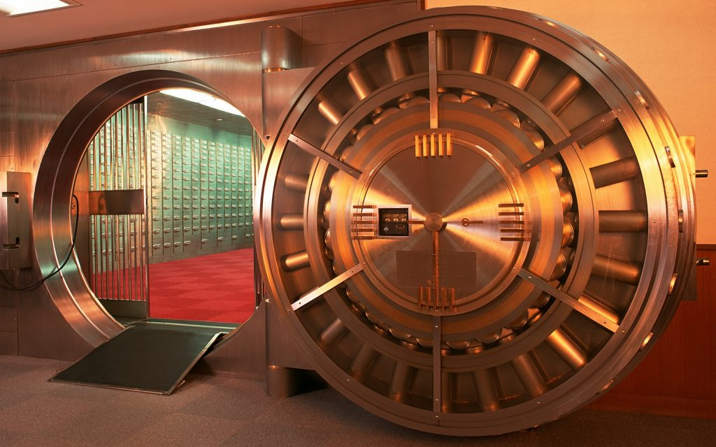 Precious Metal Storage in a Secure Vault