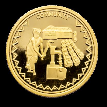 Water Pump 1/10th oz Hummingbird Gold Coin