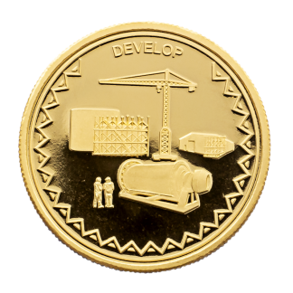 Crane Gold Coins to buy online