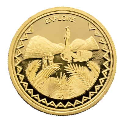 Buy Palms Drill Gold Coin