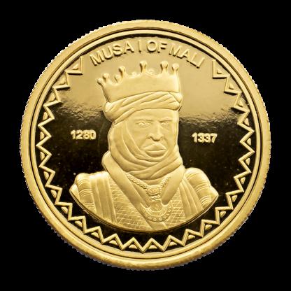 King Musa Mali Gold Coin