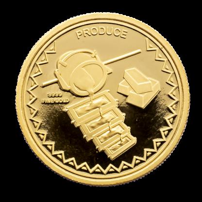 Smelting 2018 1/10th oz Hummingbird Gold Coin
