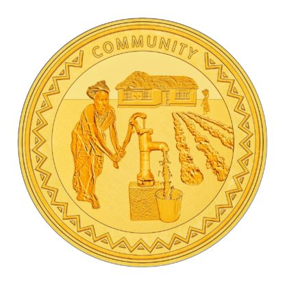 1oz Gold Humminbird SMO coin - Community