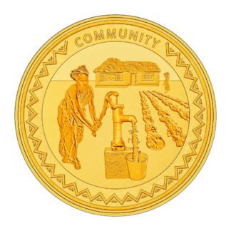1oz Hummingbird Gold SMO coin - Community