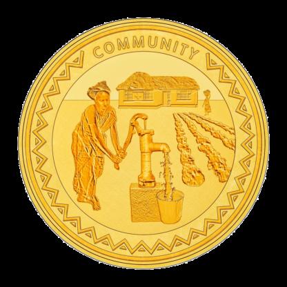1oz Hummingbird Gold SMO coin - Community