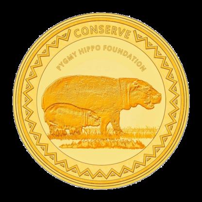 1oz Hummingbird Gold SMO coin - Conserve