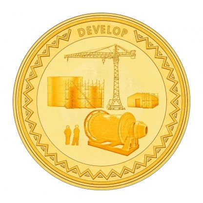develop gold coin