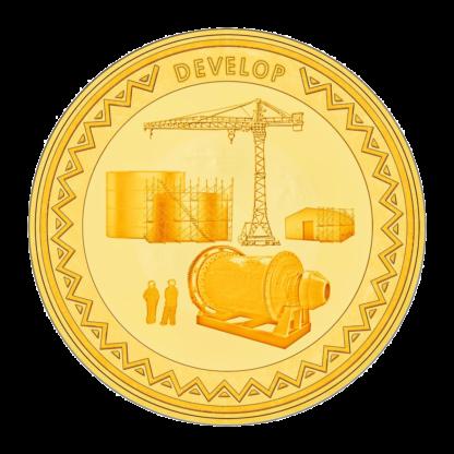 1oz Hummingbird Gold SMO coin - Explore Develop