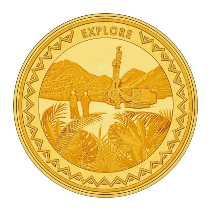 explore 1oz gold coin