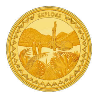 1oz Hummingbird Gold SMO coin - Explore