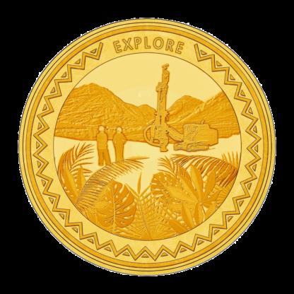 1oz Hummingbird Gold SMO coin - Explore