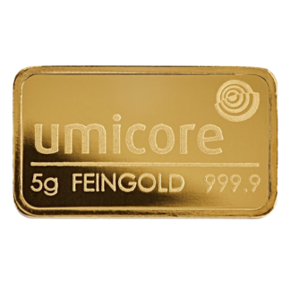 5g Umicore Gold Bar
