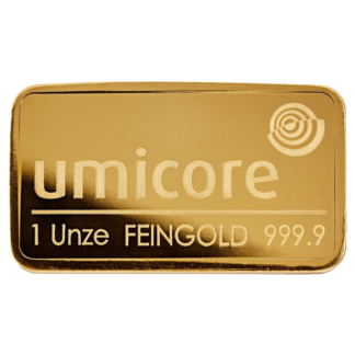 Umicore 1oz Gold Bar