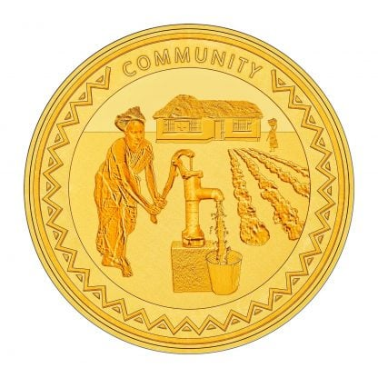 gold community coin