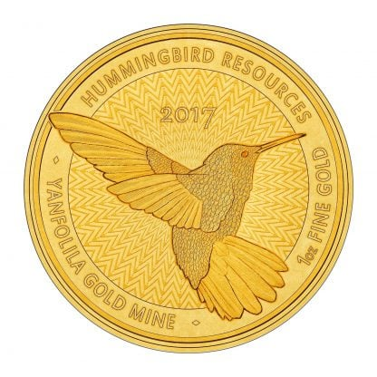hummingbird 1oz coin