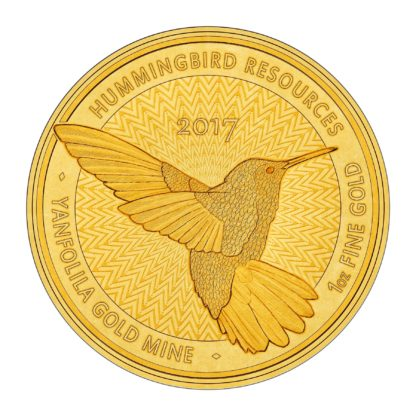 1oz Hummingbird SMO Coin