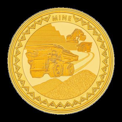 1oz Gold Hummingbird SMO coin - Mine