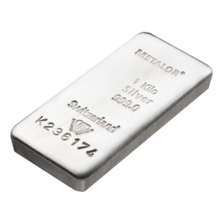 silver bars 1kg