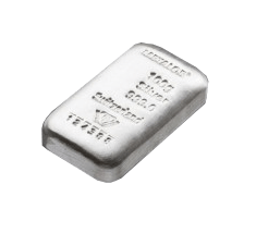 LBMA 100g Metalor Silver Bar